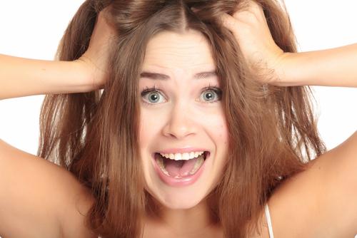 髪 ストレス