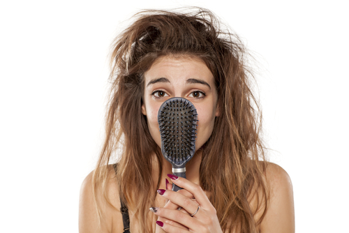前髪 湿気 対策