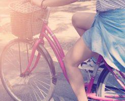自転車 前髪 崩れる